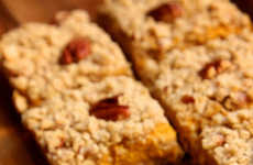 Gourd-infused Granola Snacks - The Creamy Pumpkin Pie Bars Are Healthy Options