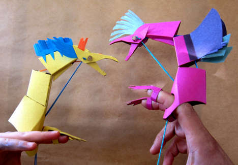 Playful Paper Animal Kits