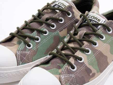 Forest-Friendly Camo Shoes