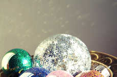 DIY Sparkling Tree Bulbs - The Glitter Ornament DIY is a Simple and Enjoyable Project