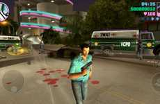 Car-Jacking Mobile Games - The GTA Vice City on iOS Celebrates the Iconic Title's 10th Anniversary