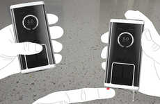 Touchscreen Blood Sugar Testing - The Gluco Diabetes Management Features a Faux Smartphone Design