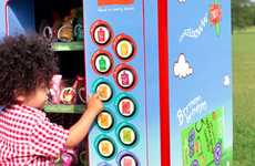 Organic Toddler Snack Dispensers - The Ella's Kitchen Vending Machine Helps Keep Tots Healthy