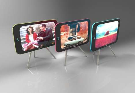 Smartphone-Inspired Televisions