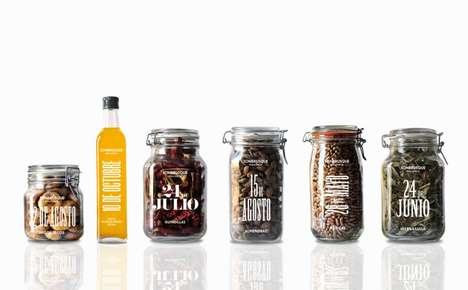 Minimalist Art-Invigorated Jars