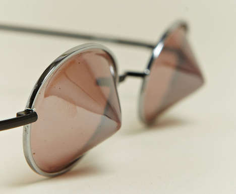 Pointy-Lensed Shades