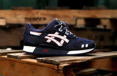 Daring Denim Sneakers - Ronnie Fieg Teams Up With ASICS on Selvedge Gel Lyte III