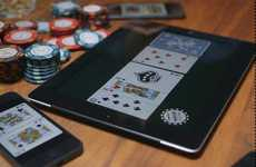 Card-Dealing Phone Apps - The Bold Poker App Makes Stacking Decks in Texas Hold'Em Quite Diffi