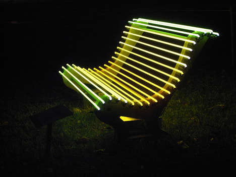 Phosphorescent Public Seating
