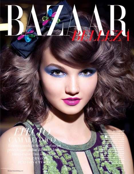Festive Beauty Editorials