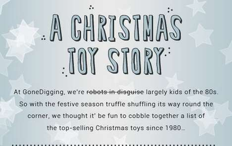 Classic Childhood Toy Infographics