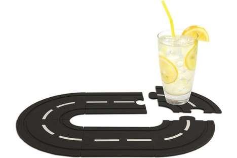 Racetrack Mug Mats