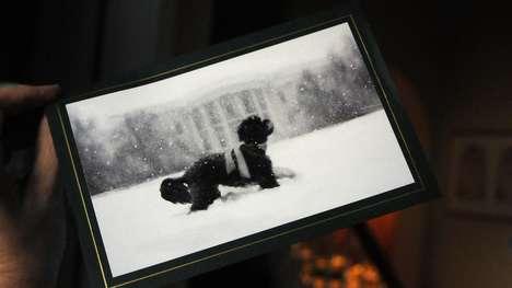 Presidential Canine Christmas Cards