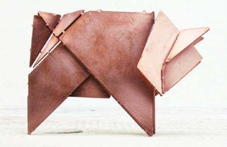 Mock Metallic Origami