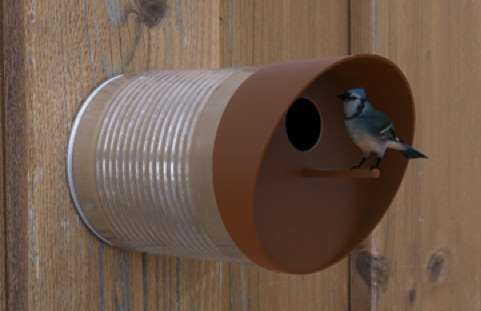 Coffee Can Avian Abodes