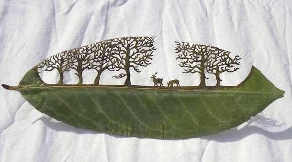 21 Fantastic Foliage Art Designs