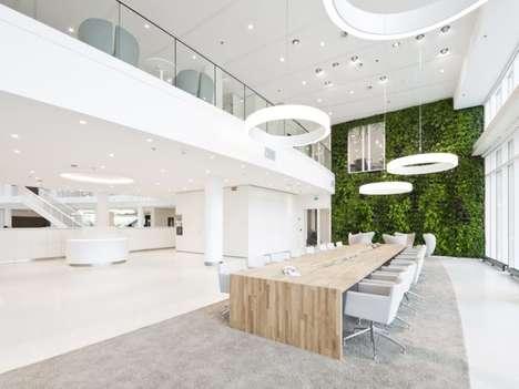 Sleek Sustainability Workspaces