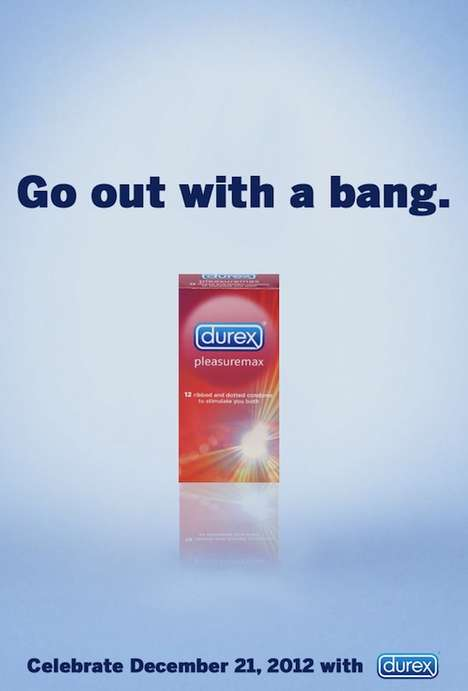 The Durex Apocalypse Campaign Encourages People to 'Bang' It Out