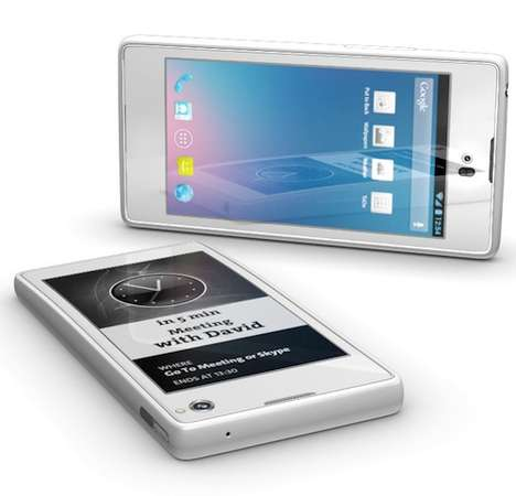 Dual Screen Phones - YotaPhone Dual Screen Smartphones Will Have a Second Reversible Screen