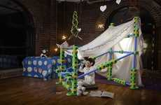 Playful Customized Forts - Nothing Says Fun Quite Like the Fort Factory Fort Building Kit