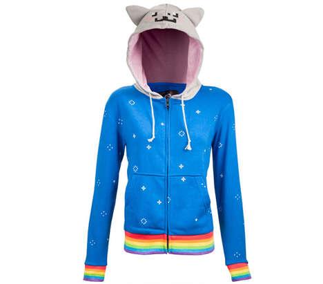 Viral Cartoon Cat Sweaters