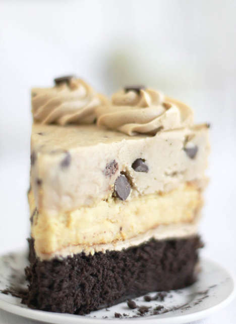 Cookie Cheesecake Hybrids