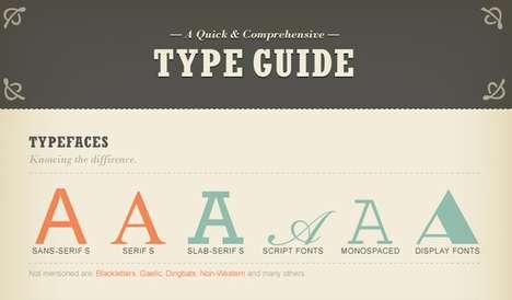 Font Deciphering Infographics