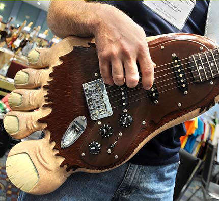 42 Unusually Designed Guitars
