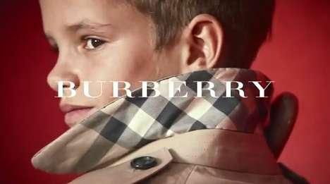Patriotic Celebrity Children Advertisements