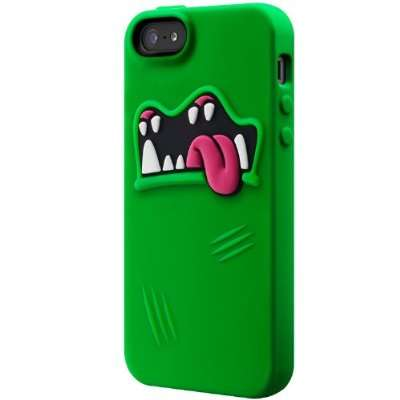 Drooling Creature Gadget Covers - The Monsters Silcone iPhone 5 Case Personifies Your Smartphone