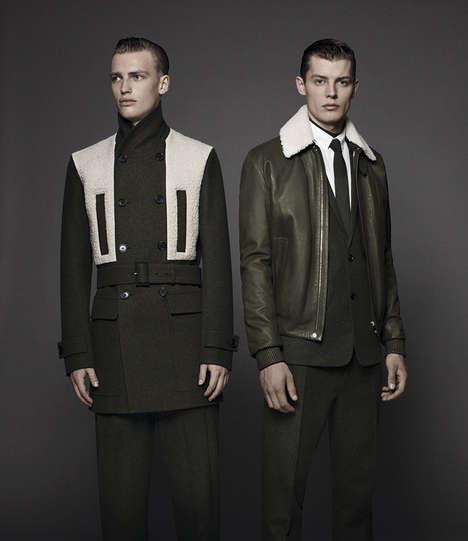 Minimalistic Military Couture