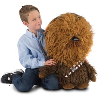 Crooning Cuddly Creature Toys - The Mini Talking Chewie is a Fun-Sized Version of Chewbacca