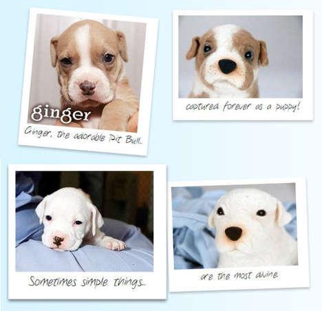 Charitable Plush Dog Replicas