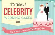 Monumental Matrimony Confections - These Celebrity Wedding Cakes are Sweetly Extravagant