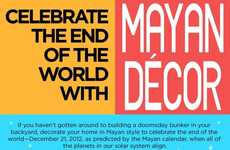 Armageddon Mayan Decor Ideas - These End of the World Crafts Can Help Reduce Apocalyptic Stress