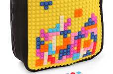 Customizable 8-Bit Knapsacks - The Uanyi Pixel Art Backpack Can be Changed Up Every Day