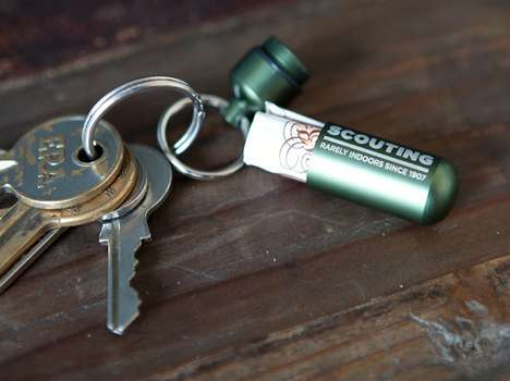 Clever Cash Stashing Keychains