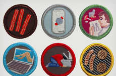 Mundane Task Merit Badges - These Hilarious Accolades are Perfect for the Under-Achiever