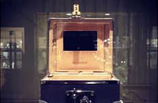 Lavishly Sturdy Jewelry Cases - The Bunney x Globe-Trotter Gem Box is an Attractively Simple Design