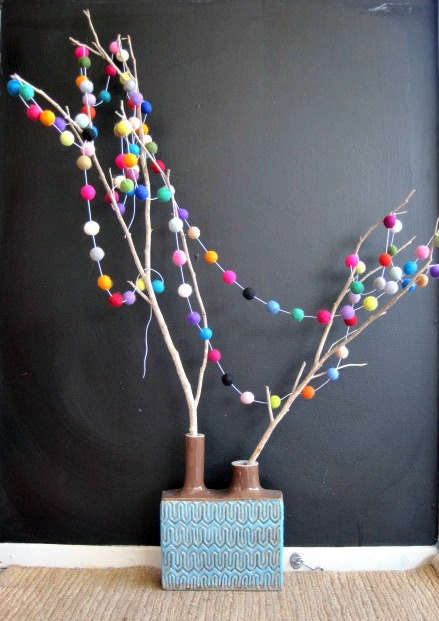 DIY Rainbow Tree Wraps