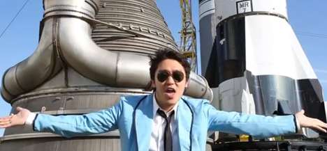 NASA Johnson Style Takes Psy's Hit to Outerspace