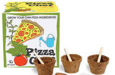 Fast Food-Growing Kits - Make your Favorite Dish from Scratch with the Pizza Growing Kit