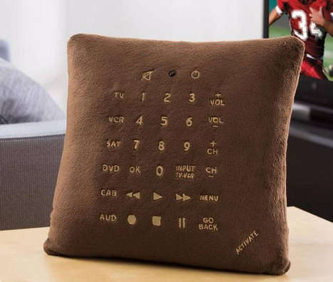 Comfy Cushion Controllers - Pillow Remote Controls are the Ultimate in Convenience