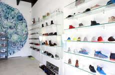 Outlandish Mural Stores - The Del Toro Miami Flagship Store Opens to the Public