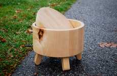 Kitchen Utensil Wood Seating