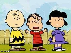 36 Peanuts Comic Character Appearances