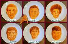 Galactic Series Flapjacks - Get to Know Captain Kirk's Crew by Munching on Star Trek Pancakes