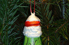 DIY Light Bulb Decorations - These Upcycled Christmas Ornaments Use Old Bulbs