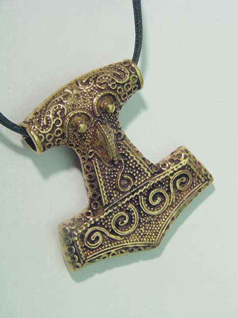 Mythical Antique Hammer Jewelry