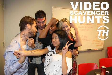 Video Scavenger Hunts - The Staff of Trend Hunter Compete in a City Wide Search Challenge